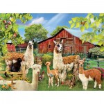 Puzzle   Lori Schory - Six Llamas