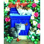 Puzzle   Mail Box Kittens