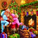 Puzzle   Marcello Corti - Everyone Loves Santa