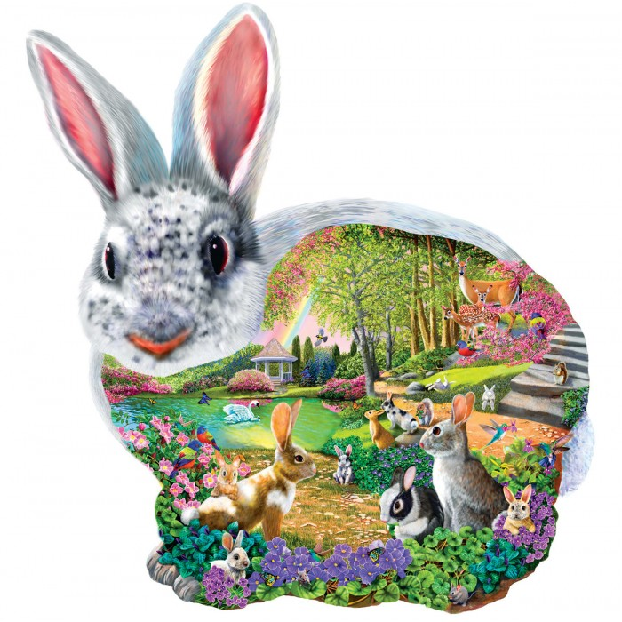 Mary Thompson - Bunny Hollow Puzzle 1000 Pieces