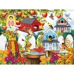 Puzzle   Nancy Wernersbach - Autumn Backyard