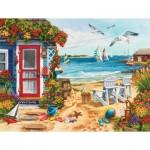 Puzzle   Nancy Wernersbach - Beach Summer Cottage