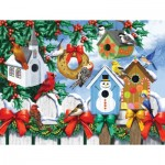 Puzzle   Nancy Wernersbach - Winter Backyard
