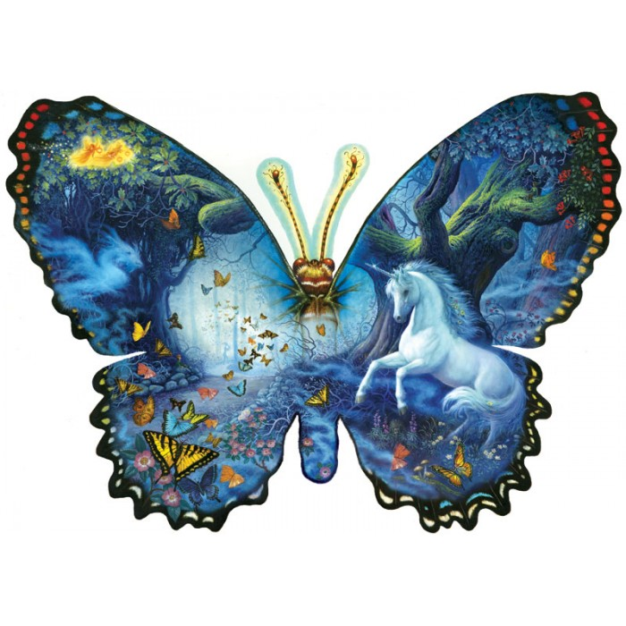 Ruth Sanderson - Fantasy Butterfly Puzzle 1000 Pieces