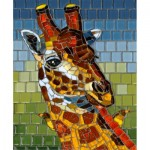 Puzzle   Stained Glass Giraffe