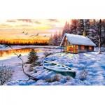 Puzzle   The Macneil Studio - Log Cabin