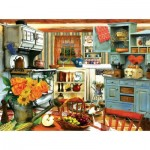 Puzzle   Tom Wood - Grandma's Country Kitchen