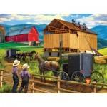 Puzzle   Tom Wood - Raising the Barn