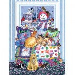 Puzzle   Wendy Edelson - Winter Quilt