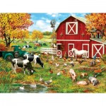 Puzzle   XXL Pieces - A Day on the Farm