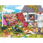 Puzzle   XXL Pieces - Backyard Pups
