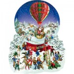 Puzzle   XXL Pieces - Barbara Behr - Old Fashioned Snow Globe