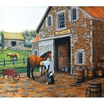 Puzzle   XXL Pieces - Coppery and Stables