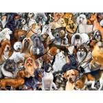 Puzzle   XXL Pieces - Dog World