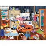 Puzzle   XXL Pieces - Grandma's Kitchen