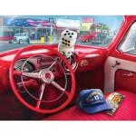 Puzzle   XXL Pieces - Greg Giordano - American Car