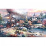Puzzle   XXL Pieces - James Lee -  Maryland Mountain Express