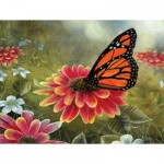 Puzzle   XXL Pieces - Monarch Butterfly