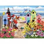 Puzzle   XXL Pieces - Nancy Wernersbach - At Home by the Sea