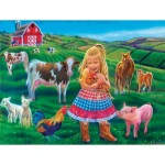 Puzzle   XXL Pieces - Tricia Reilly-Matthews - Fun on the Farm