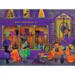 Puzzle   XXL Pieces - Tricia Reilly-Matthews - Witch Broom Shop