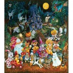 Puzzle   XXL Pieces - Trick or Treat Dogs