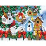 Puzzle   XXL Pieces - Winter Backyard
