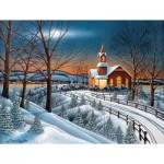 Puzzle   XXL Pieces - Winter Evening Service