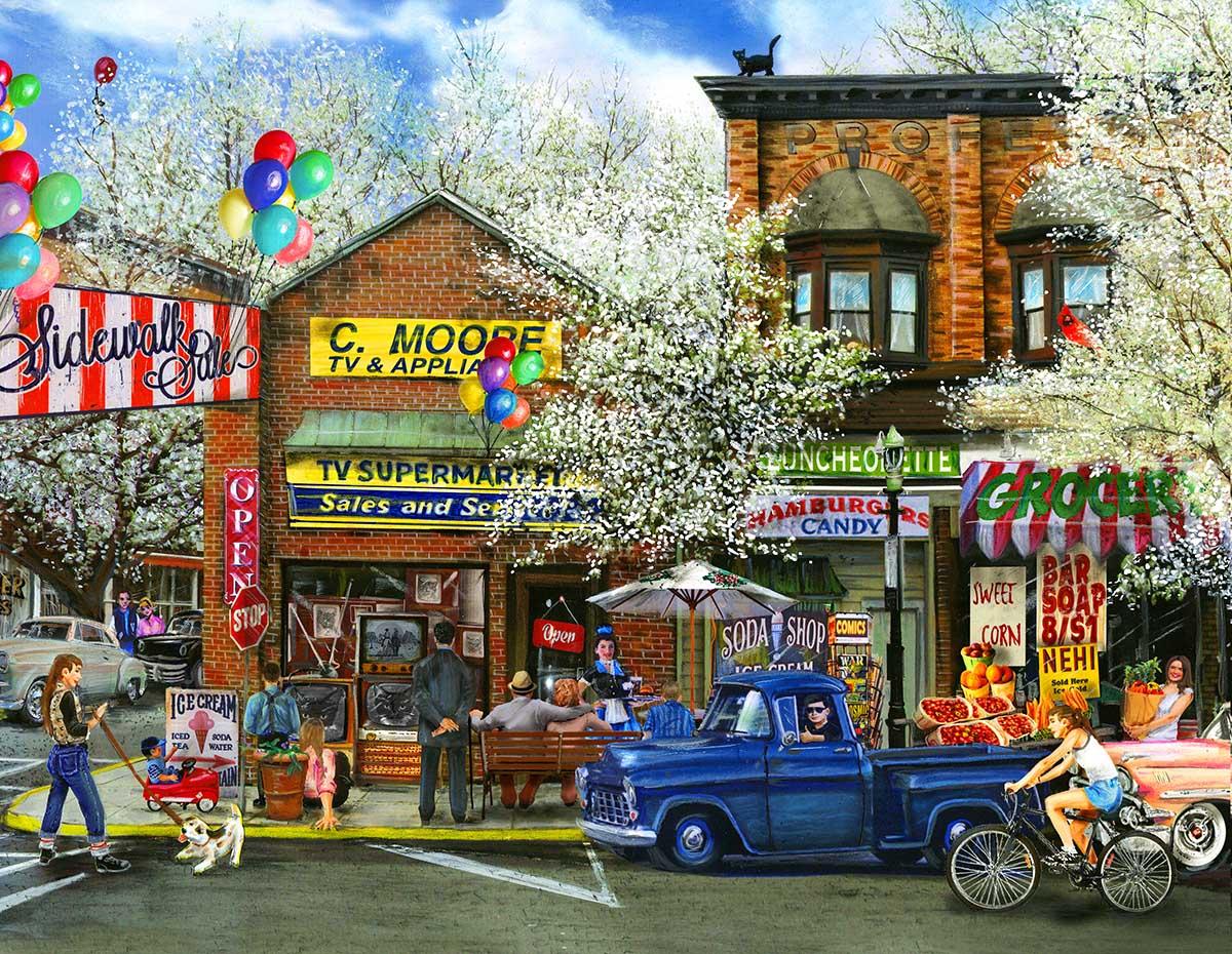 Main Street 2000 Piece Jigsaw Puzzle