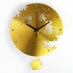 T-Best-02 Wall Clock Puzzle - 16 inch (40 cm)