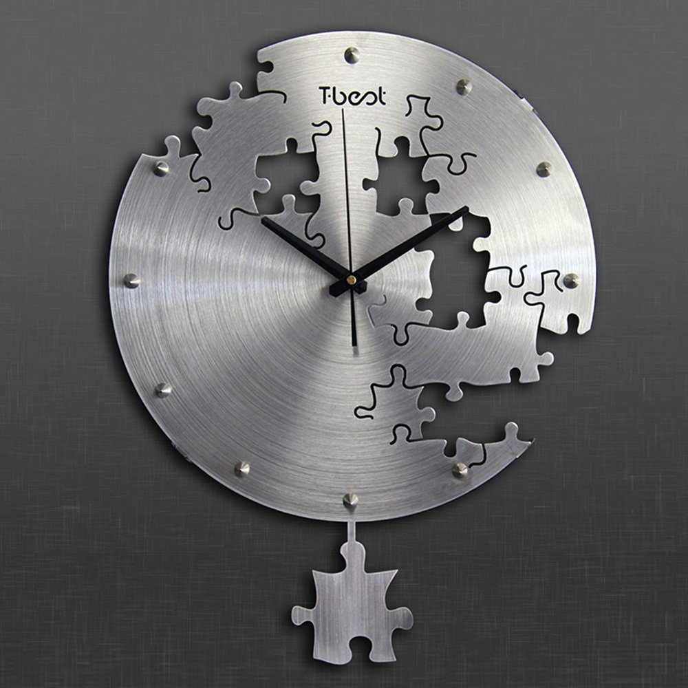 Wall Clock Puzzle 16 Inch 40 Cm T Best 01 Various