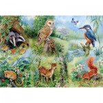 Puzzle  The-House-of-Puzzles-1424 XXL Pieces - Nature Study