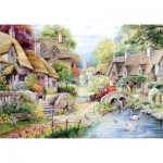 Puzzle  The-House-of-Puzzles-1431 XXL Pieces - River Cottage