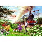 Puzzle  The-House-of-Puzzles-1615 XXL Pieces - Railway Children