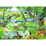 Puzzle  The-House-of-Puzzles-1646 XXL Pieces - Tales Of The River
