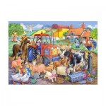 Puzzle  The-House-of-Puzzles-1806 XXL Pieces - Farm Friends