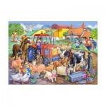Puzzle  The-House-of-Puzzles-1806 XXL Pieces - Farm Friends