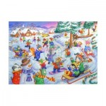 Puzzle  The-House-of-Puzzles-1813 XXL Pieces - Fun In The Snow
