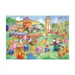 Puzzle  The-House-of-Puzzles-1820 XXL Pieces - Funfair Games