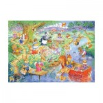 Puzzle  The-House-of-Puzzles-1844 XXL Pieces - Picnic Time