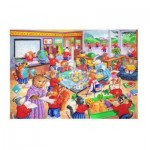 Puzzle  The-House-of-Puzzles-1868 XXL Pieces - School Days