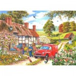 Puzzle  The-House-of-Puzzles-1875 XXL Pieces - Daily Delivery