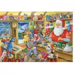 Puzzle  The-House-of-Puzzles-1950 Christmas Collectors Edition No.5 - Santa's Workshop