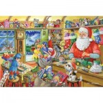 Puzzle  The-House-of-Puzzles-2162 Christmas Collectors Edition No.5 - Santa's Workshop