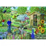 Puzzle  The-House-of-Puzzles-2179 XXL Pieces - At The Allotment