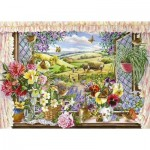 Puzzle  The-House-of-Puzzles-2193 XXL Pieces - Harvest View
