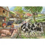 Puzzle  The-House-of-Puzzles-2223 XXL Pieces - Oak Tree Farm