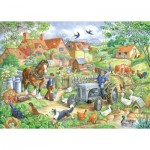 Puzzle  The-House-of-Puzzles-2445 XXL Pieces - Keeping Busy
