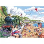 Puzzle  The-House-of-Puzzles-2469 XXL Pieces - Seaside Special