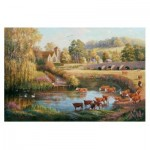 Puzzle  The-House-of-Puzzles-2476 XXL Pieces - Waiting to Cross